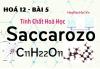 Tính chất hoá học, công thức cấu tạo của Saccarozo, Tinh bột và Xenlulozo - hoá 12 bài 6